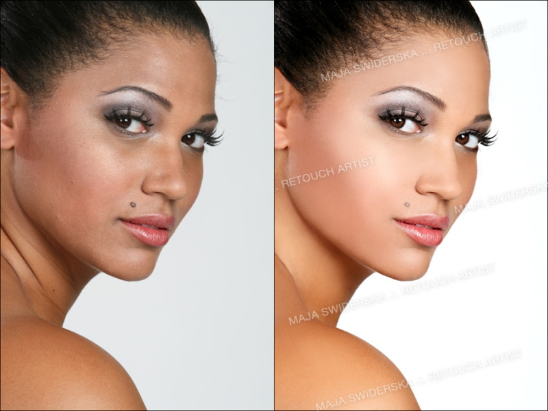 Jul 18, 2008 Maja Swiderska Beauty Retouch .:. Enhanced skin, eyes & lips