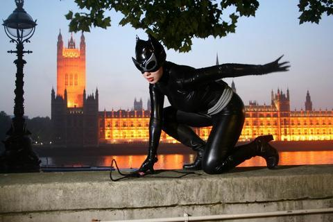 Across the river from the Houses of Parliament Jul 19, 2008 GB Scout Hush Catwoman