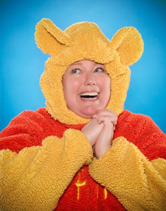 Paula the Pooh Jul 19, 2008 © 2008 Patrick Shipstad Photography happy happy joy joy