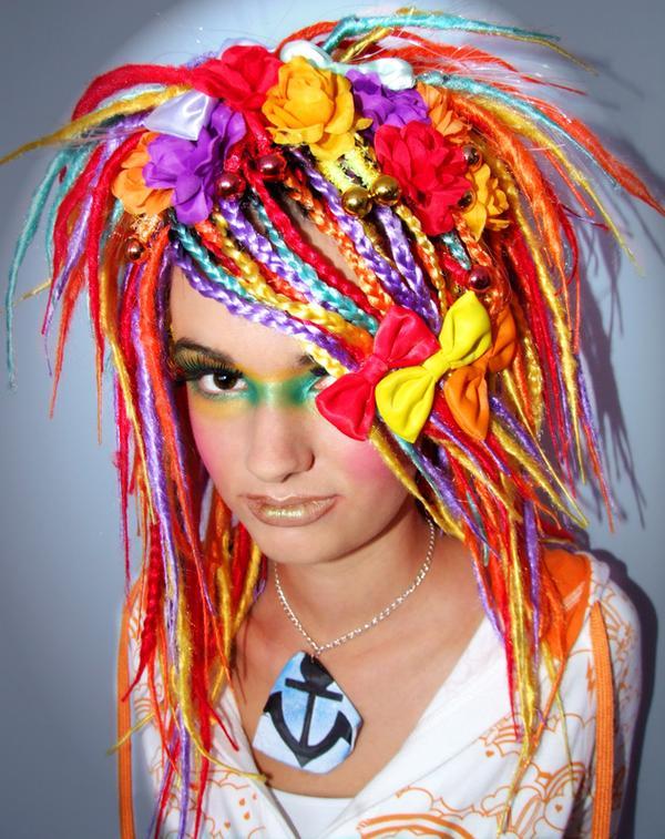 Jul 20, 2008 Gayle Cooper Fiber-Optic Dreadlock Wig
