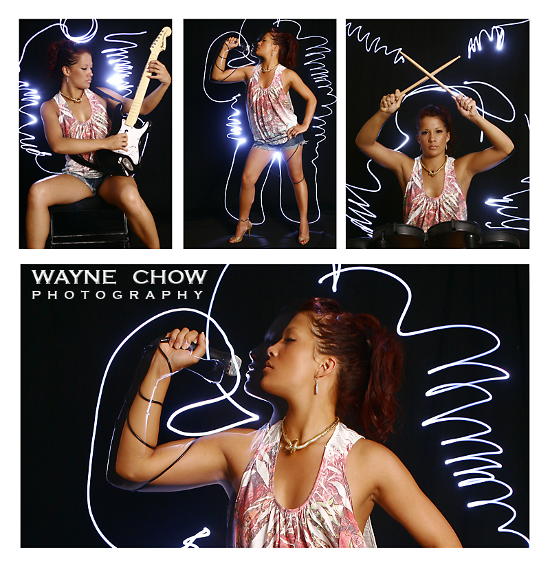 Female model photo shoot of Ocean Hui by Wayne Chow Photography