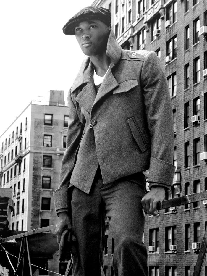 NY NY Jul 21, 2008 JBassett Stylist: Andrew Nowell #231111 Styling Assistant The Stylemonsters #575500 - Model Martin - Agency Blue