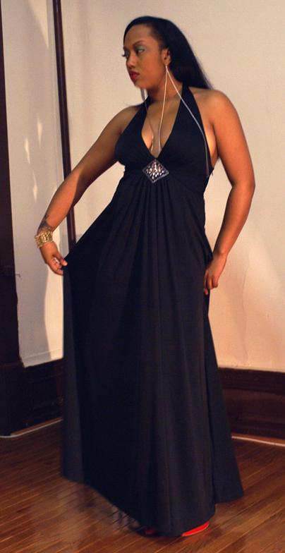 Female model photo shoot of ROXI MILAN in MUA - Myself