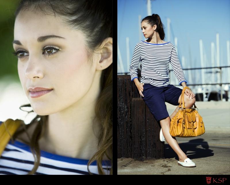 Female model photo shoot of Keana  Parker and Britney Placencia in Santa Barbara, makeup by Ruby DeRosier