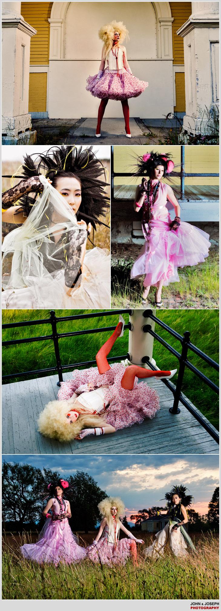 Models- Iana Klenz, Jane Hong, Michelle Brayton. Mua- Pink Beauty. Jul 25, 2008 Bustles And Ruffles.   Story-MH