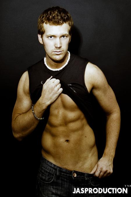 Male model photo shoot of JoshStringer in my apt