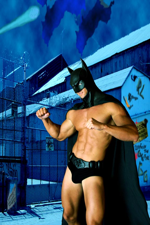 Gotham City Jul 25, 2008 Irmas Place Productions Batman Ready for Action