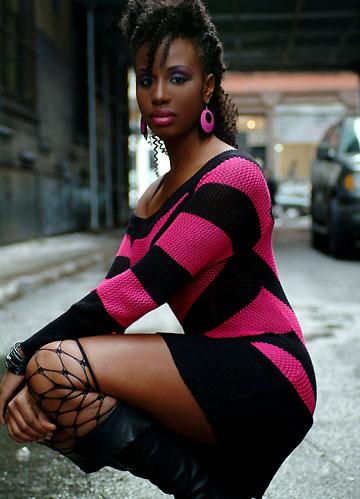 Female model photo shoot of Ms Milan