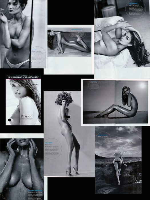Jul 26, 2008 Credited with Peter Lindbergh, Sante DOrazio, Gavin Oneill (shot cover) and inside, Andreas Bitesnich, Herb Ritts and a few others. Masters of Black and White Issue (only 2 images pictured are mine.)