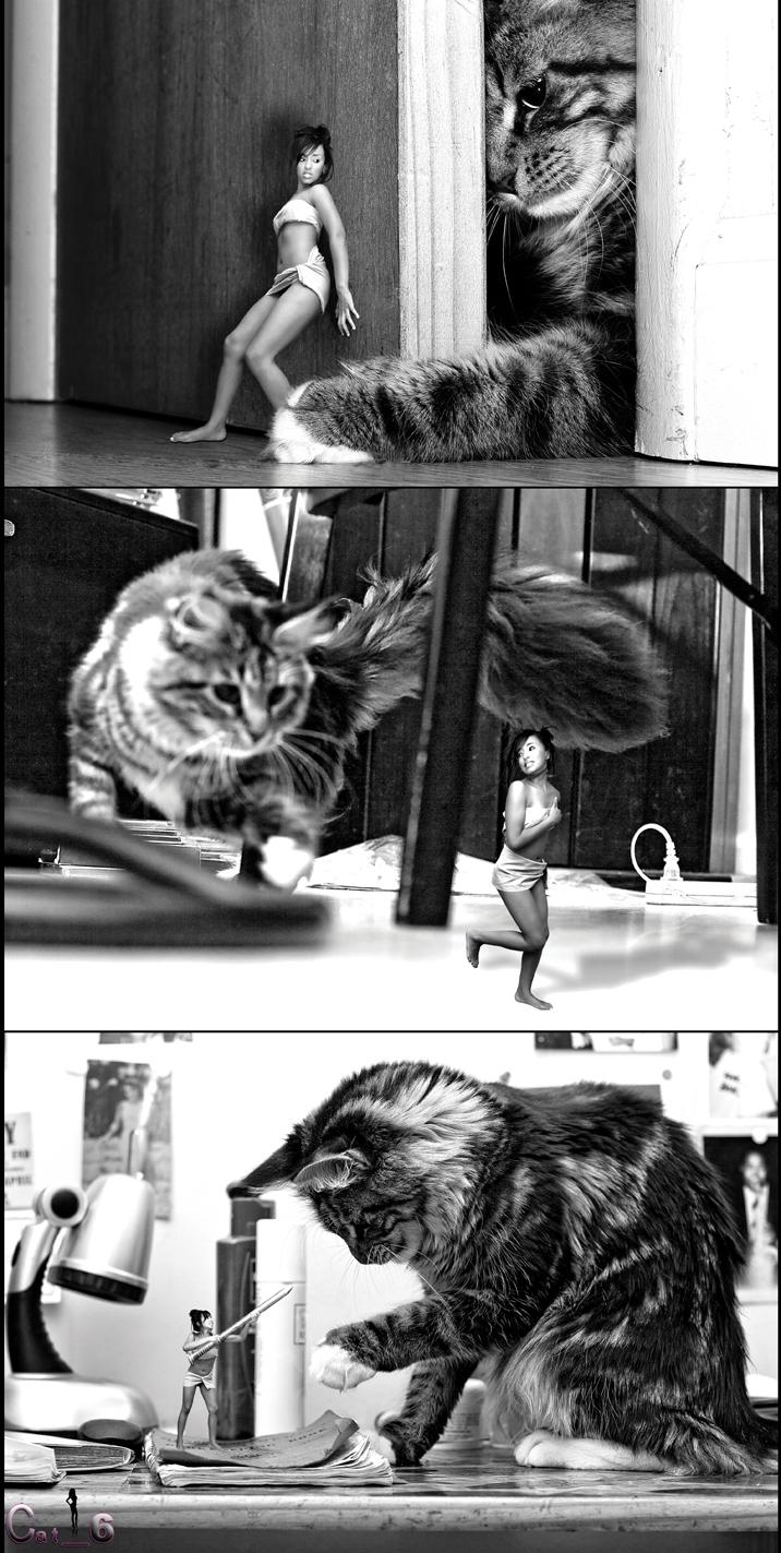 SoHo, NY Jul 26, 2008 Cat_6© 4 Inch Woman (Part. I)...
