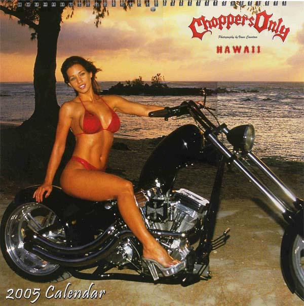 North Shore Hawaii Jul 26, 2008 Choppers Only Cover of Choppers Calender