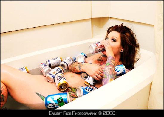 Female model photo shoot of lollie