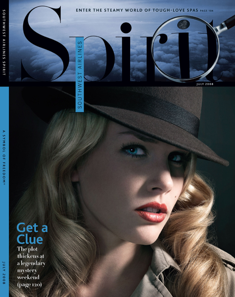 Austin, TX Jul 27, 2008 Adam Voorhes July 08 Cover, Spirit Magazine