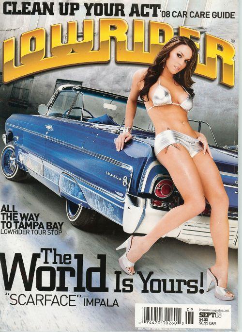 Jul 28, 2008 Lowrider Mahazine, me on the cover, september 08