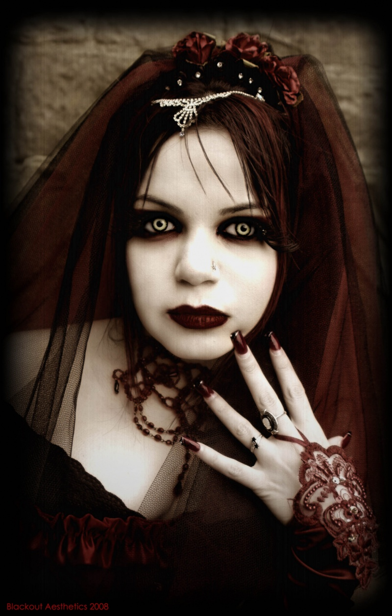 Jul 30, 2008 Photo by Blackout Aesthetics The Crimson Bride
