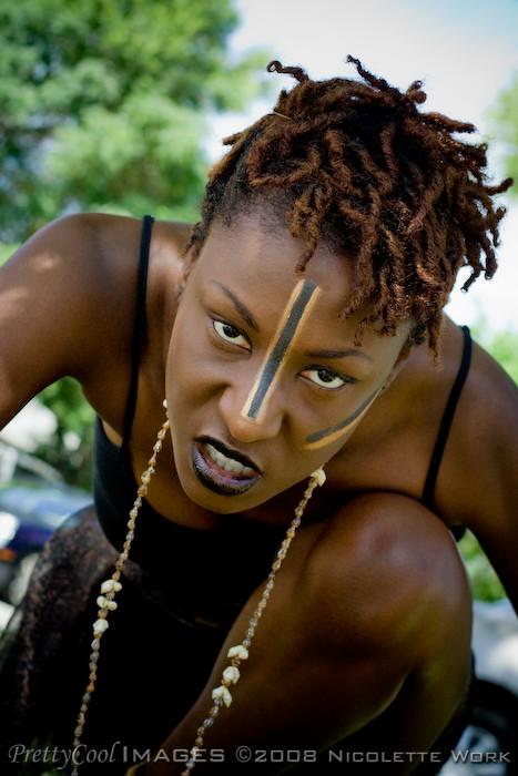 Rowlett, TX Jul 30, 2008 Tribal Queen by Deucyz Make-up
