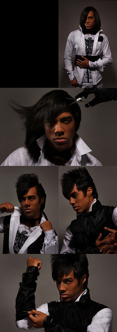 Detroit, Michigan Aug 02, 2008 McKenzie Brothers Photography Descent Into Darkness editorial or HOW I GOT MY HAIRCUT!!!