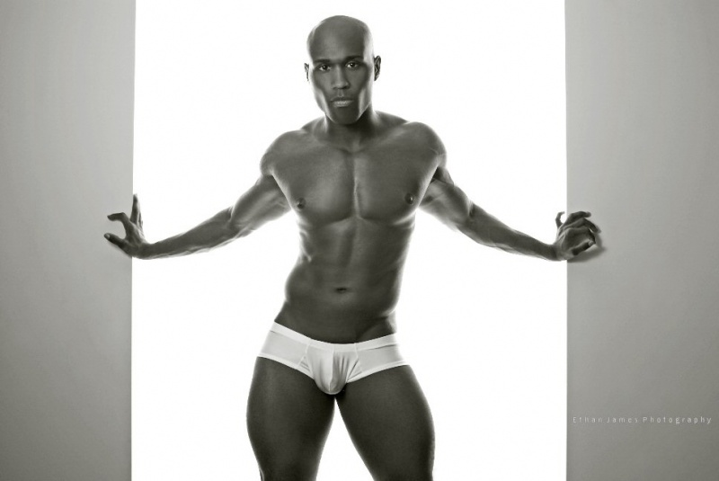 Male model photo shoot of Terrance J by ethan james photography