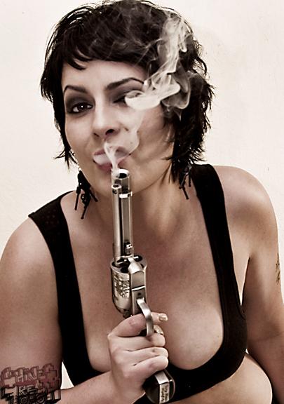 San Jose Aug 04, 2008 Sara Danielle Hines smokin Gun
