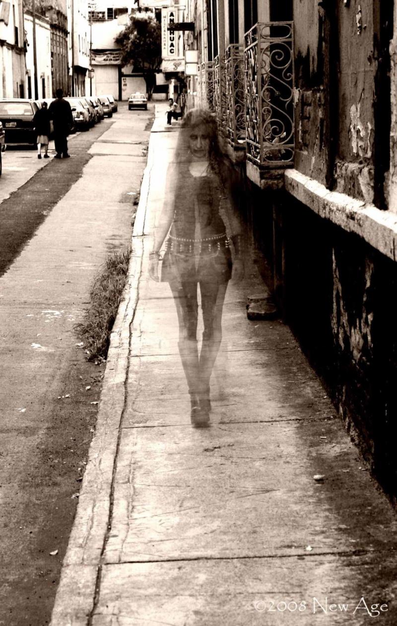 MÉXICO CITY Aug 04, 2008 NEW AGE STUDIO 08 LAMIA GHOST