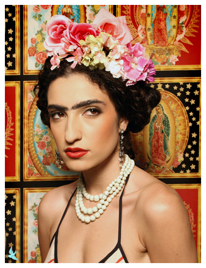 666 studios Aug 05, 2008 666photography/Michelle MC as Frida Model: Michelle, MUA Lisa Naeyaert