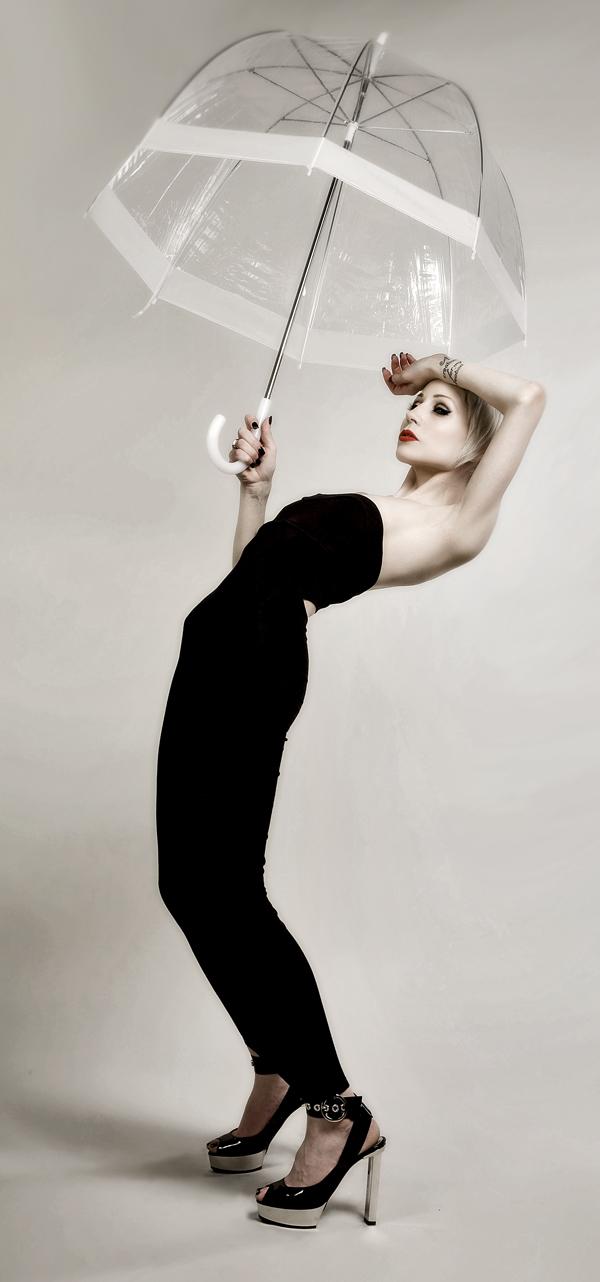 Aug 05, 2008 John Gatta & Precious Little MUA. wardrobe: model, playin with my new brella and dancin shoes.