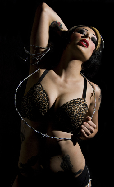 Female model photo shoot of Rayna Terror