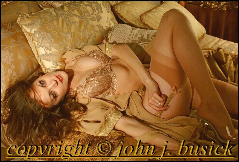 IN STUDIO Aug 06, 2008 JOHN J. BUSICK MONIKA - GOLD BEDROOM SET
