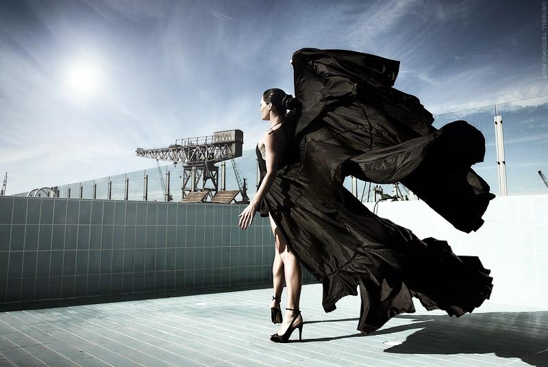 Sydney Australia Aug 08, 2008 Model - Amy Delves Surrealism