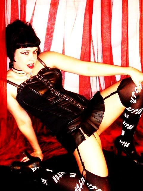 Female model photo shoot of Babette the Blood Bitch