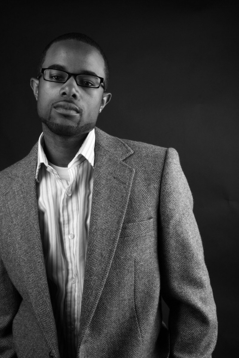 Male model photo shoot of Written Renaissance