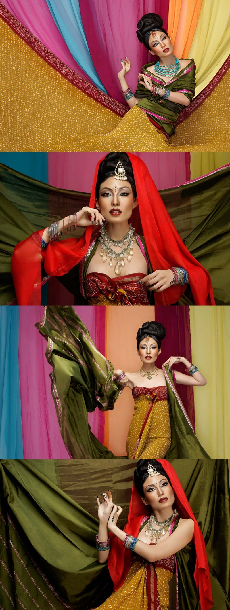 Indonesia Aug 08, 2008 Dan Santoso 2008 BollyWood. Swank Glossy. Styled by Kesha Moedz. Make up & Hair by Adrian