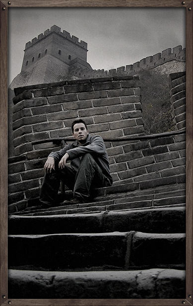 Great Wall of China 2004 Aug 08, 2008 Hey, thats me!