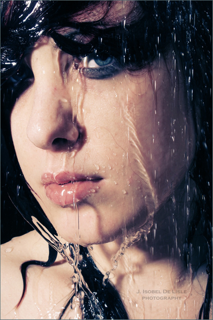 Shower Aug 09, 2008 2008 J. Isobel De Lisle Cry Me a River
