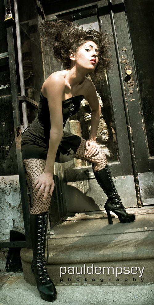Female model photo shoot of Nicole Angelica by Paul Dempsey in Philadelphia, hair styled by katherine zaleski