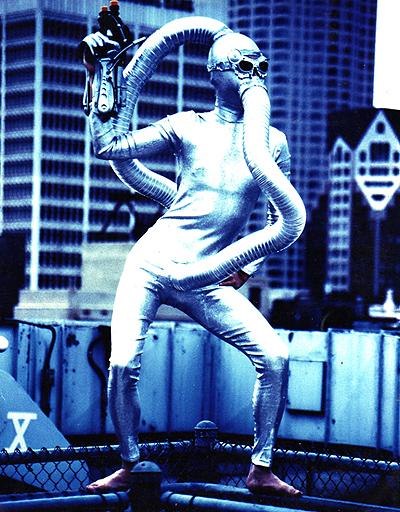 Los Angeles, CA Aug 12, 2008 LouisCampos Safe Sex Ranger Concept Design: Shava Slander, Model: Huey
