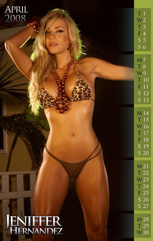 The Beach Aug 12, 2008 Jeniffer Hernandez Calendar 2008 April
