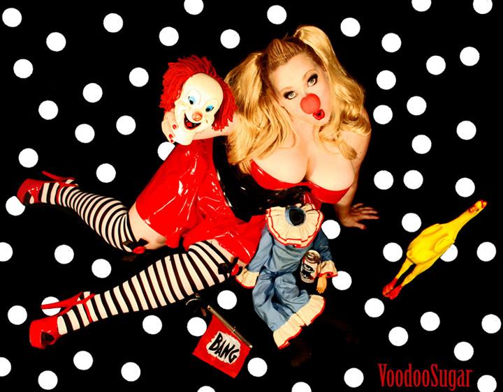 Female model photo shoot of VoodooSugar and Goldie Mansfield in VoodooSugar Studios