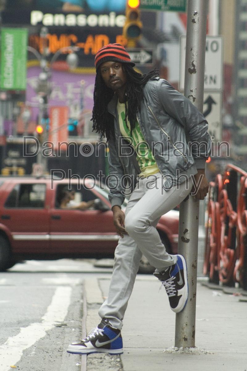 Times Square Aug 13, 2008 Ben Bishop dba Damon Benjamin Photography Nickel Bag