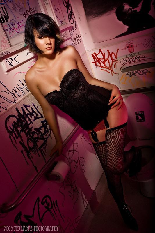 Female model photo shoot of Calipso