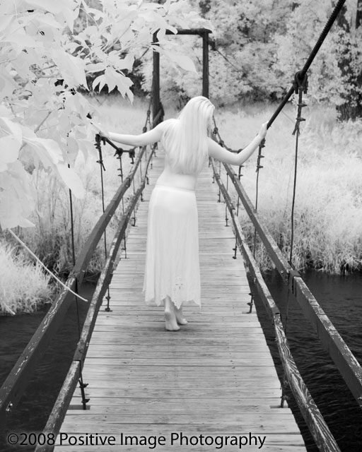 Colorado Aug 15, 2008 2008 Kylea on the bridge, IR