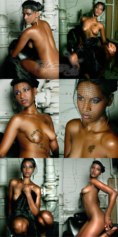Male and Female model photo shoot of LeGare and Miss Kriss in Gspot studio in Yonkers