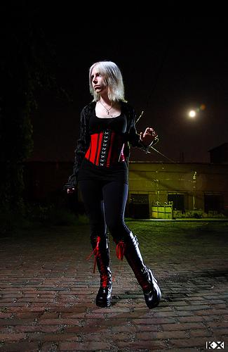 Detroit, MI Aug 15, 2008 Ka Xiong Vampire Huntress