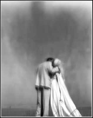 Maine Aug 16, 2008 Frederick Park The Wedding - a pinhole image, 4x5 black & white, Ilford