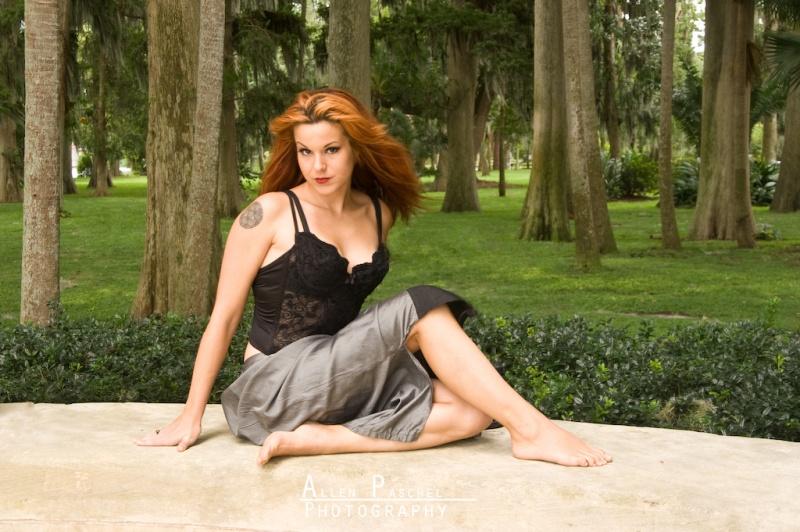 Female model photo shoot of Michelle Lakis by dvfilmer in Winter Park, FL