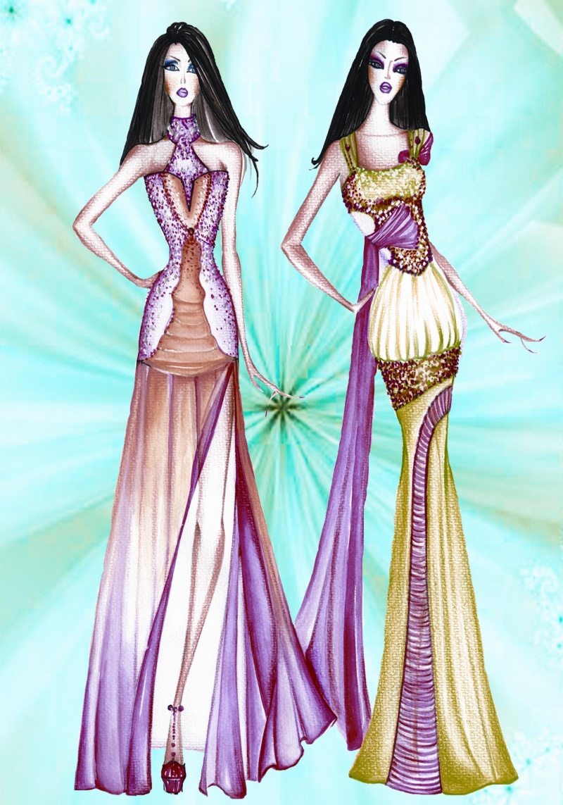 atlanta Aug 19, 2008 © 2008 anand vaswani-ALL RIGHTS RESERVED fashion illustrations by anand vaswani