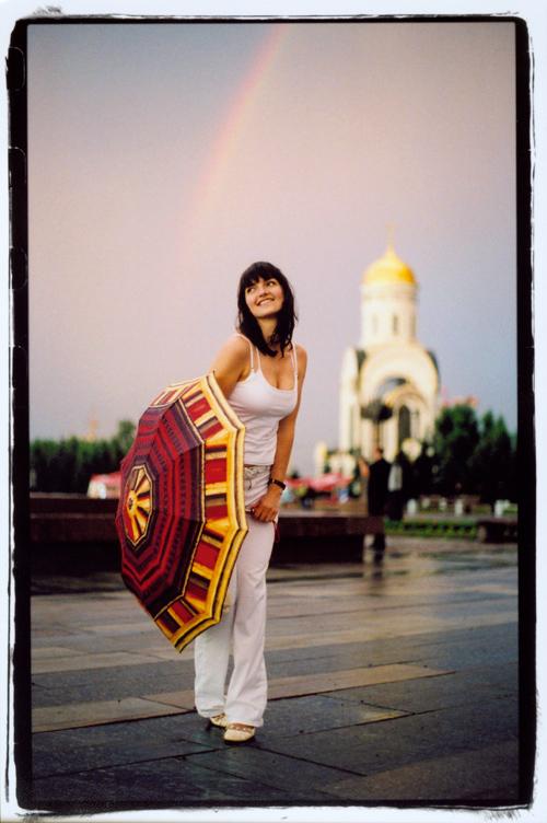 Moscow, Russia Aug 20, 2008 Dmitriy O. Makarov Rainbow, Kodak Max 400