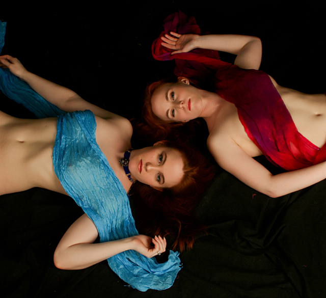 Female model photo shoot of SlvrSecrtanRedraleen   , Rosaleen_Wolf and The Silver Rose by gonefromhere 1950