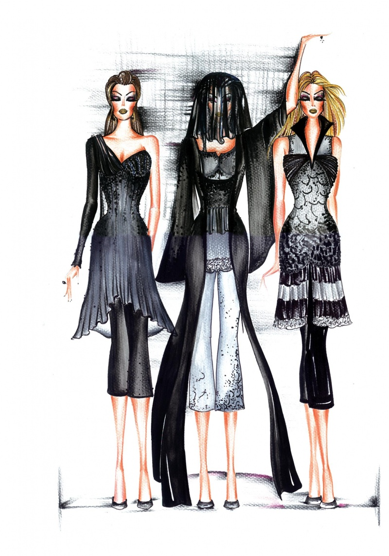 atlanta Aug 20, 2008 © 2008 anand vaswani-ALL RIGHTS RESERVED fashion illustrations by anand vaswani