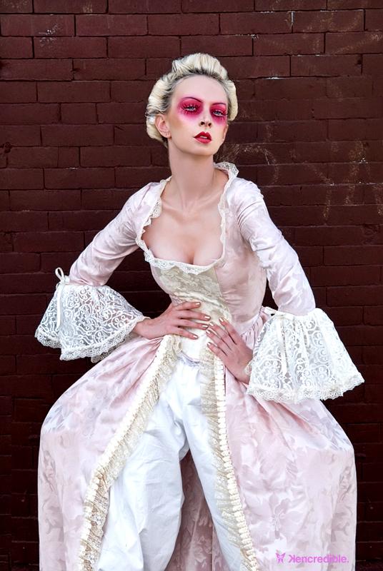 Aug 20, 2008 Photo: Kencredible, Wardrobe: Vicious Dolls, Hair/Mua: Darya, Model: Stephanie Nexus Victorian Vandalism